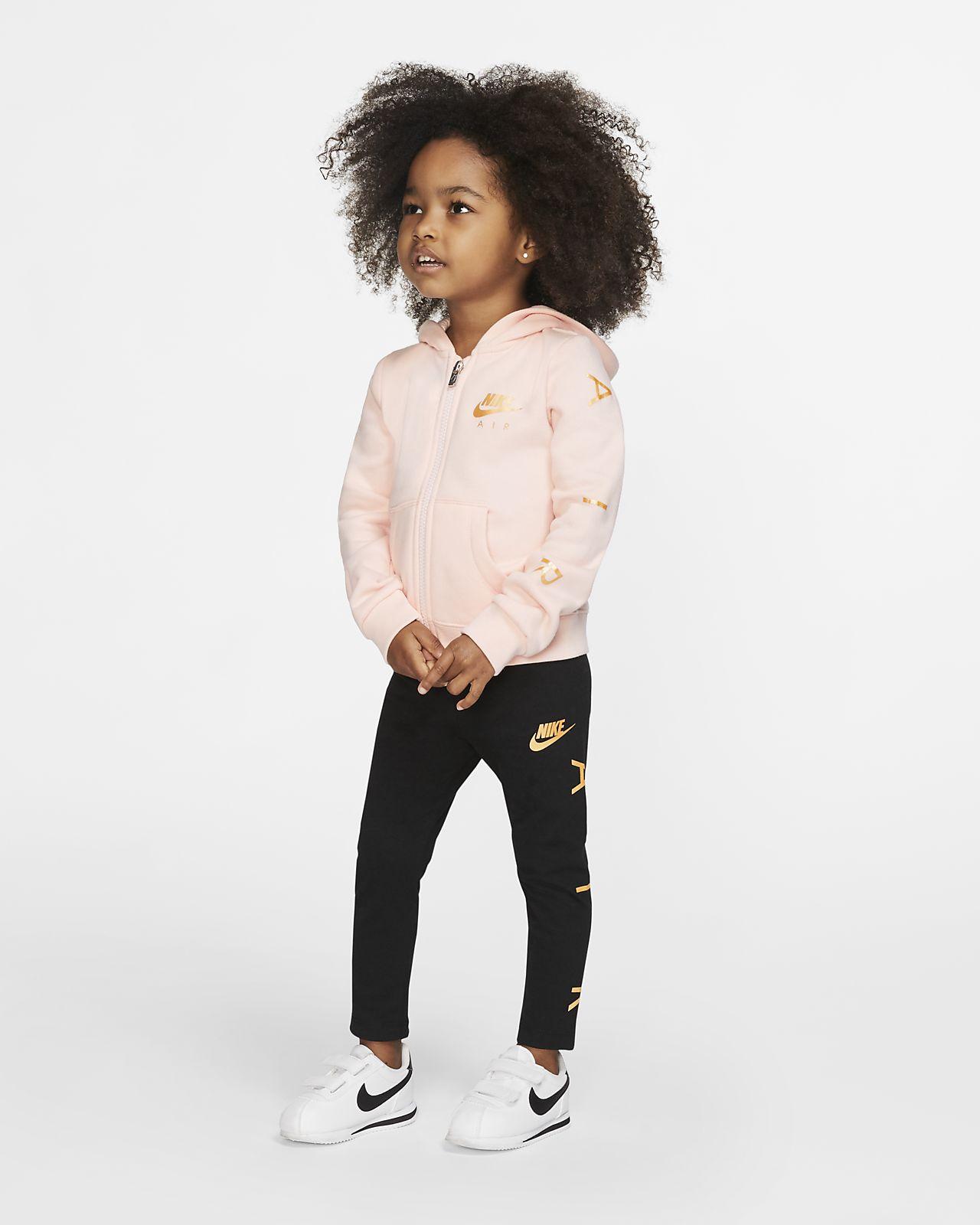 Capucha Con Piezas Infantil Sudadera Leggings Conjunto Dos Nike Air De Y wXTiOPkZu