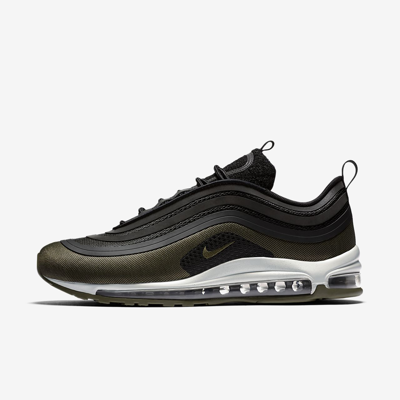 nike air max 97 ultra 17 premium black & orange