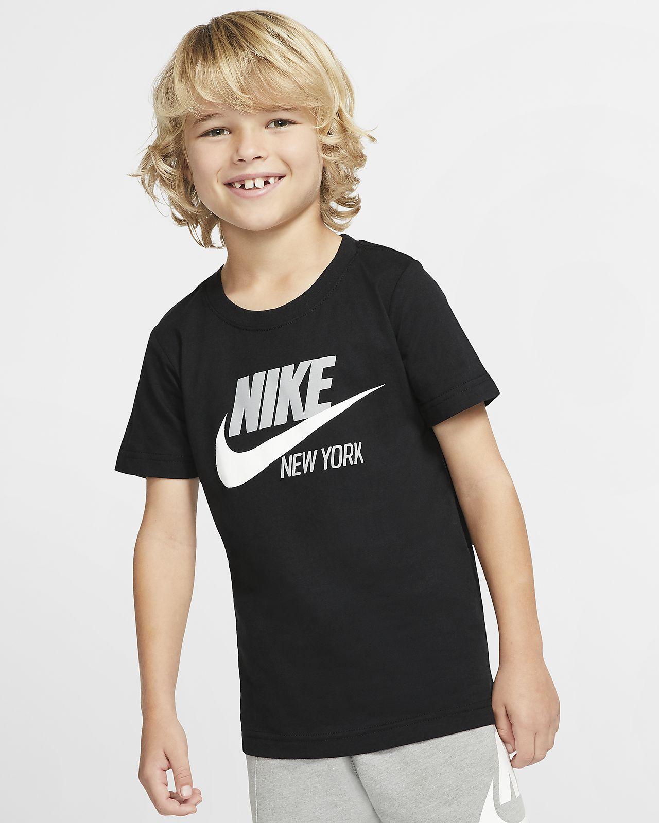 Nike Sportswear City Little Kids' Short-Sleeve T-Shirt