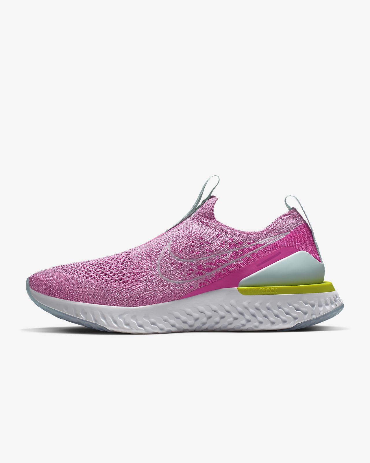pretty nice a82da d0fda ... Nike Epic Phantom React Flyknit Women s Running Shoe