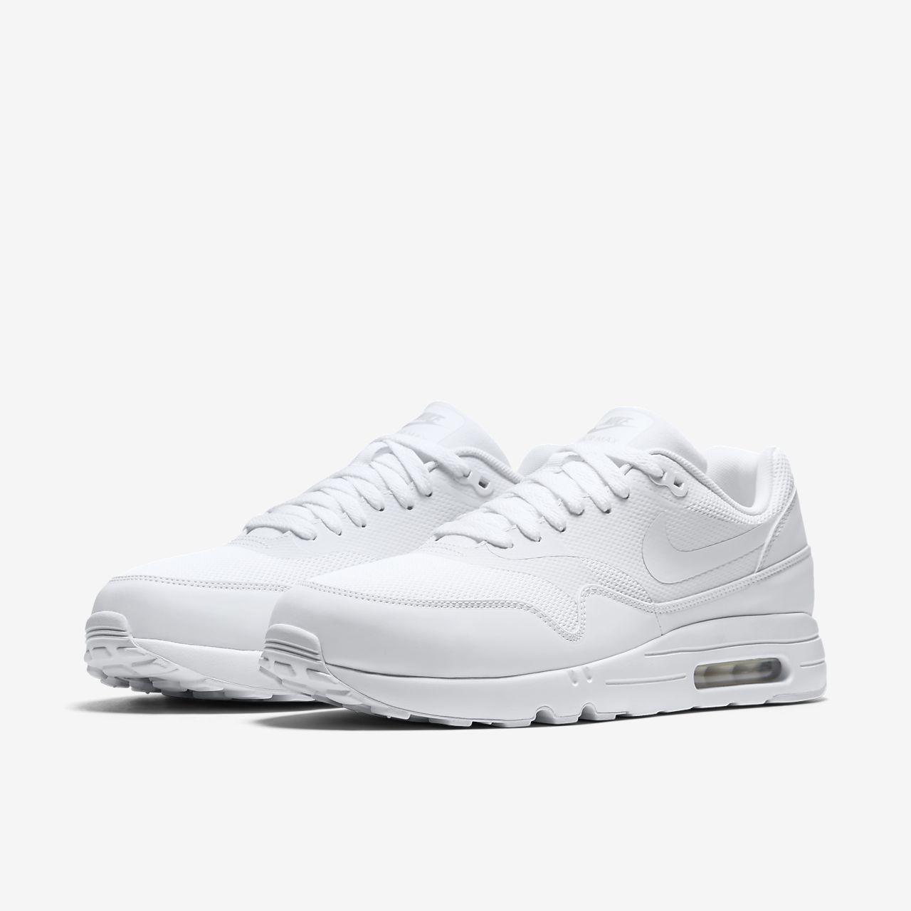 many styles half off shopping nike air max 1 ultra essential white mens