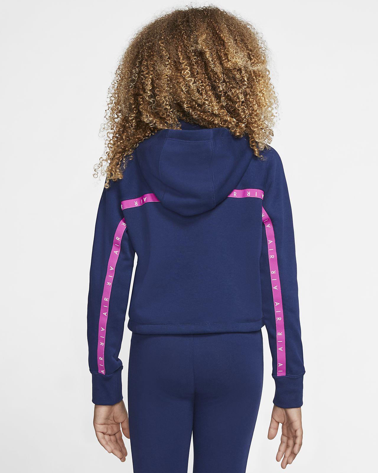 Air Kurz Hoodie für ältere Kinder (Mädchen)