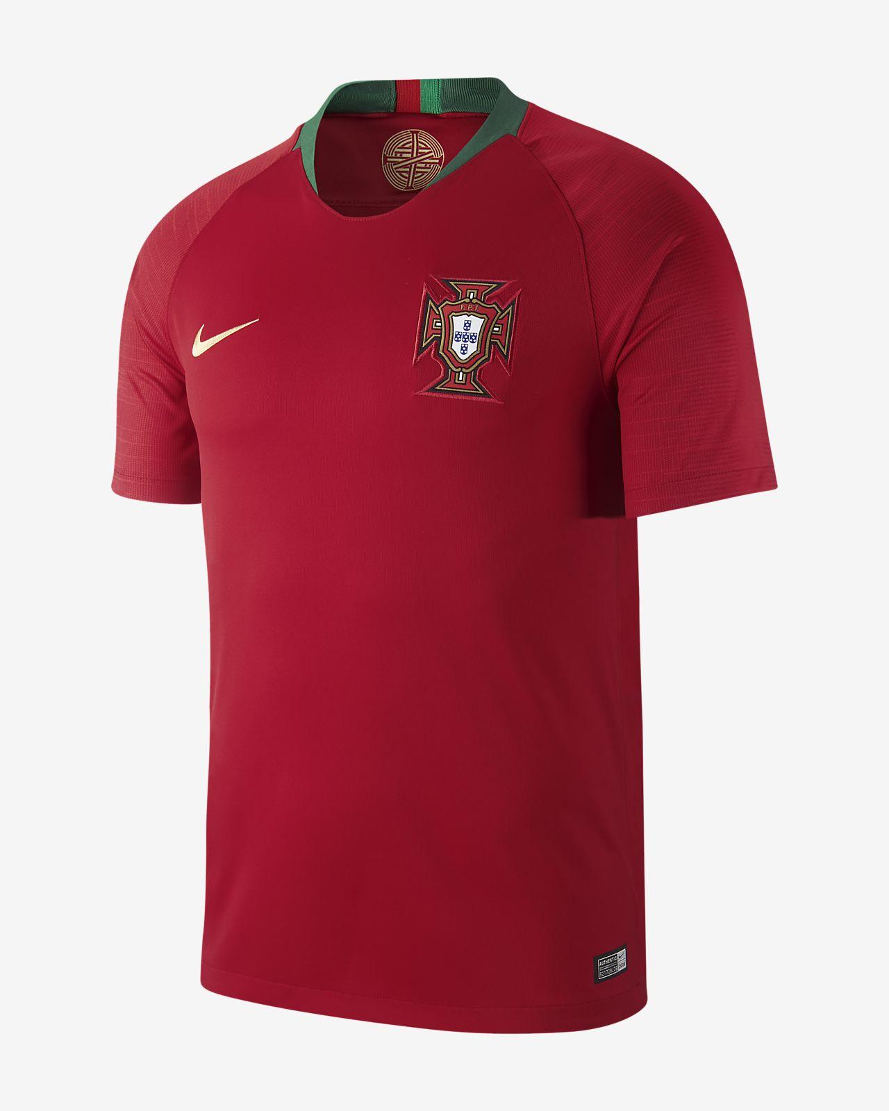 Maillot de football 2018 Portugal Stadium Home pour Homme