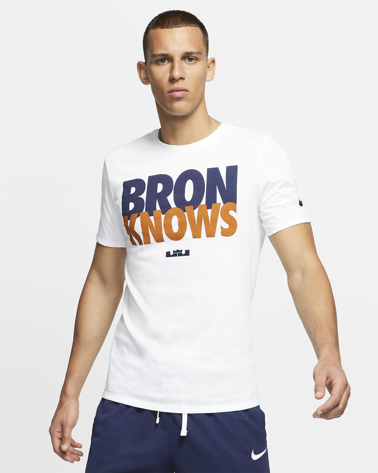 pretty cheap top design first rate LeBron 'Bron Knows' Men's T-Shirt