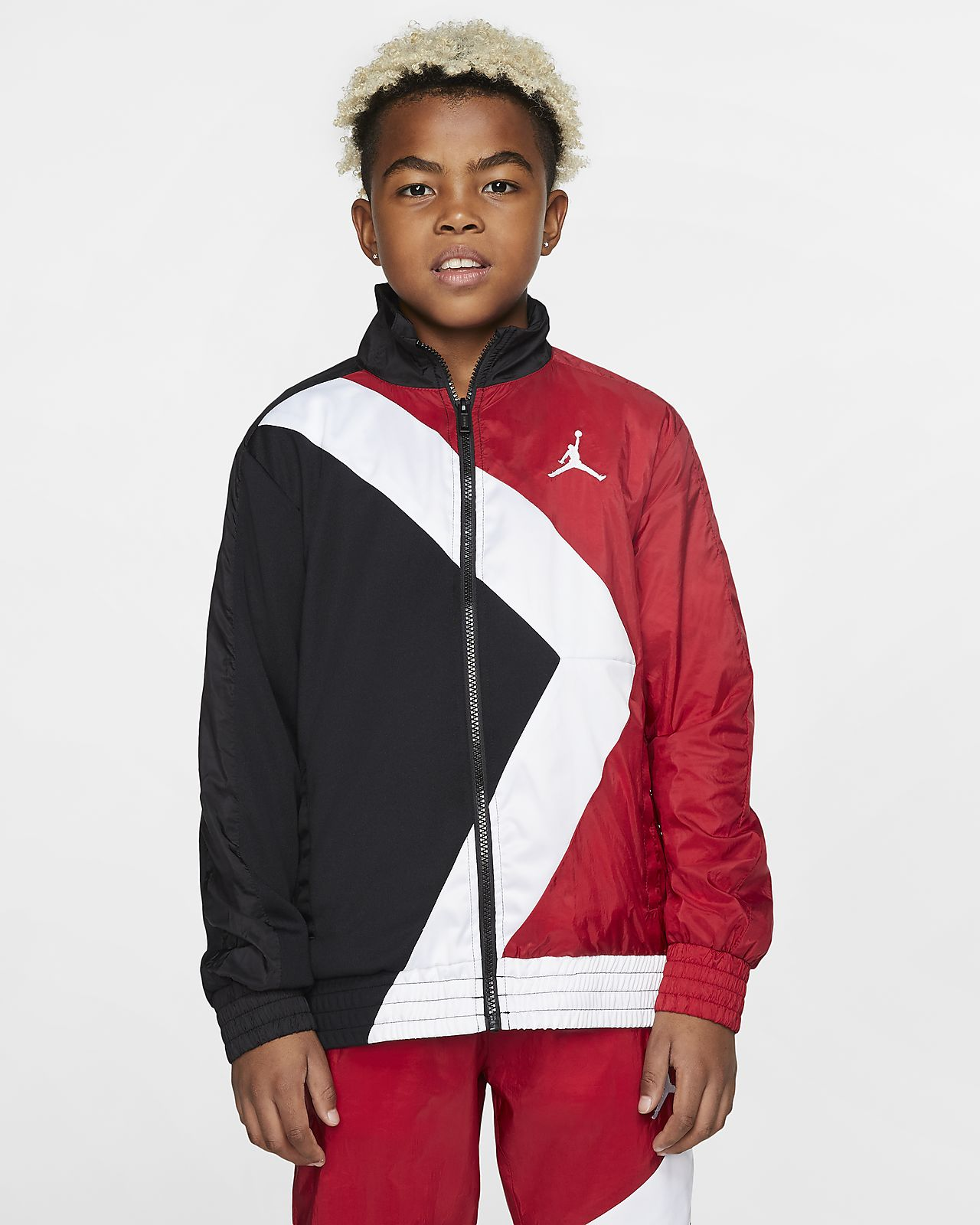 Jordan Wings Big Kids' (Boys') Full-Zip Jacket