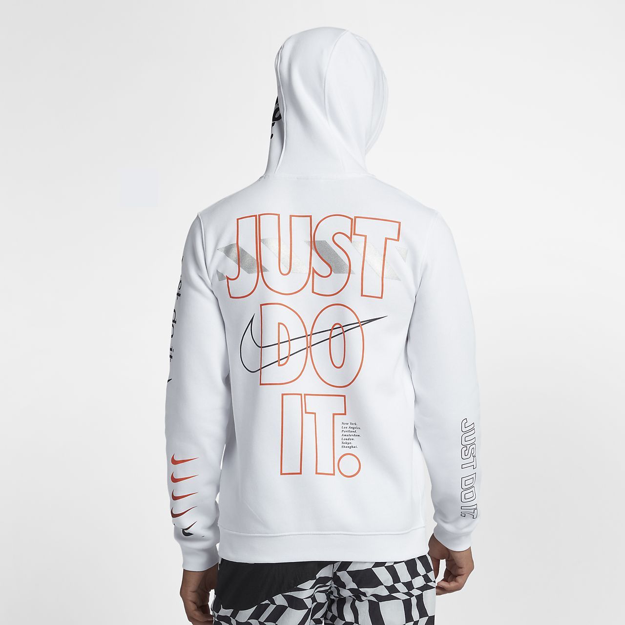 new style 4bf80 953b6 ... Nike Sportswear Club Fleece Men s JDI Pullover Hoodie