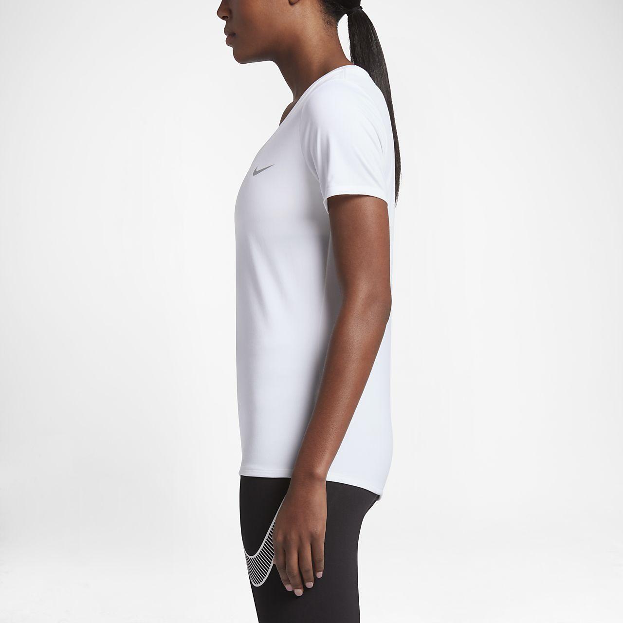 216fa63f434 Nike Dri-FIT Women s Training T-Shirt. Nike.com
