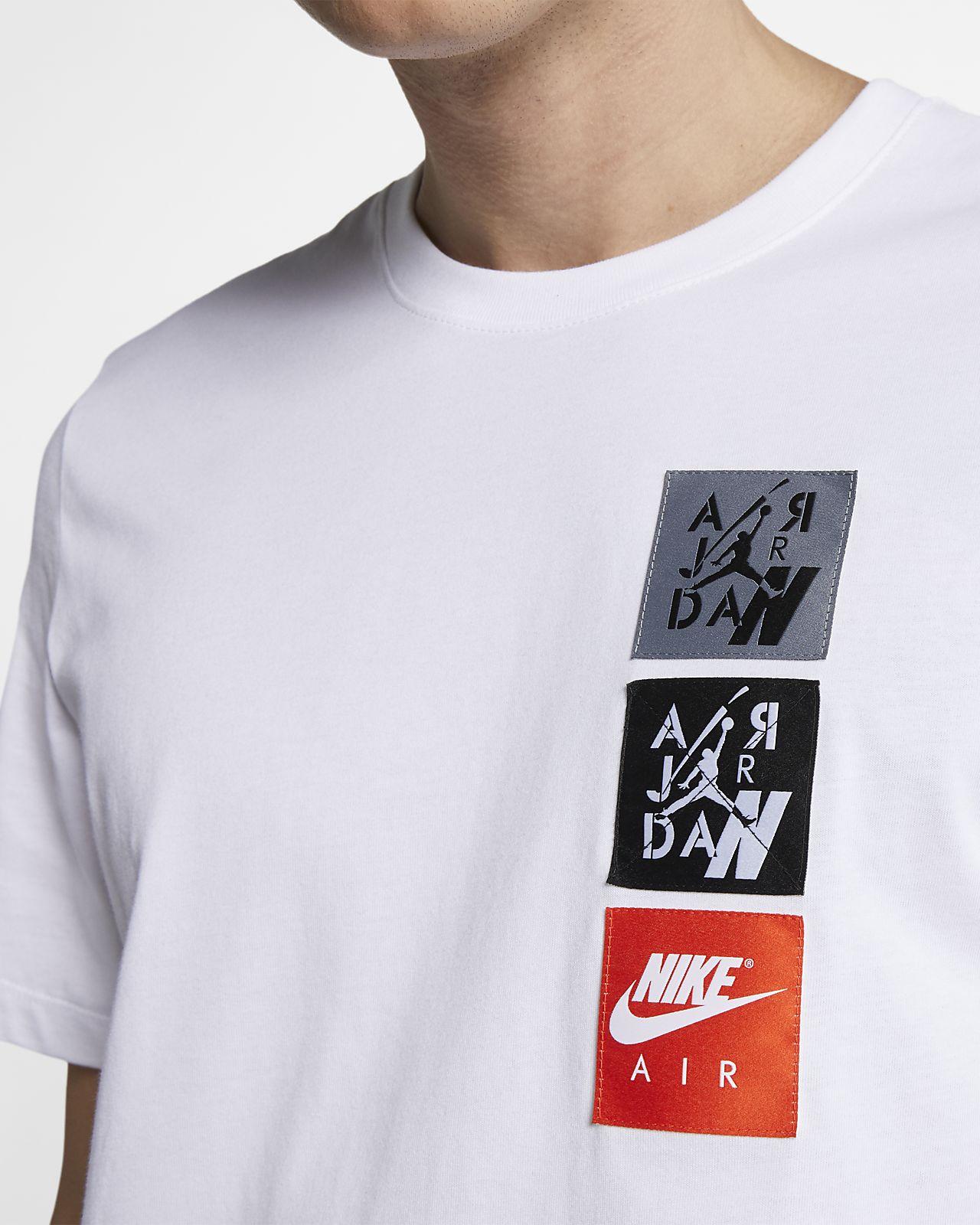0175391552 Jordan Legacy AJ4 Woven Labels Men s T-Shirt. Nike.com ZA