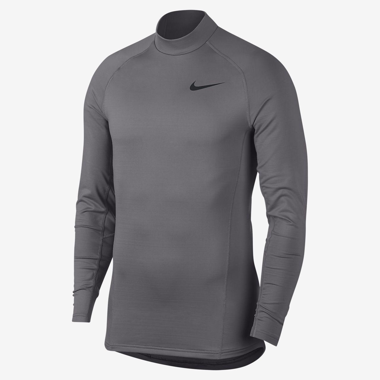 Prenda para la parte superior de entrenamiento de manga larga para hombre Nike Therma