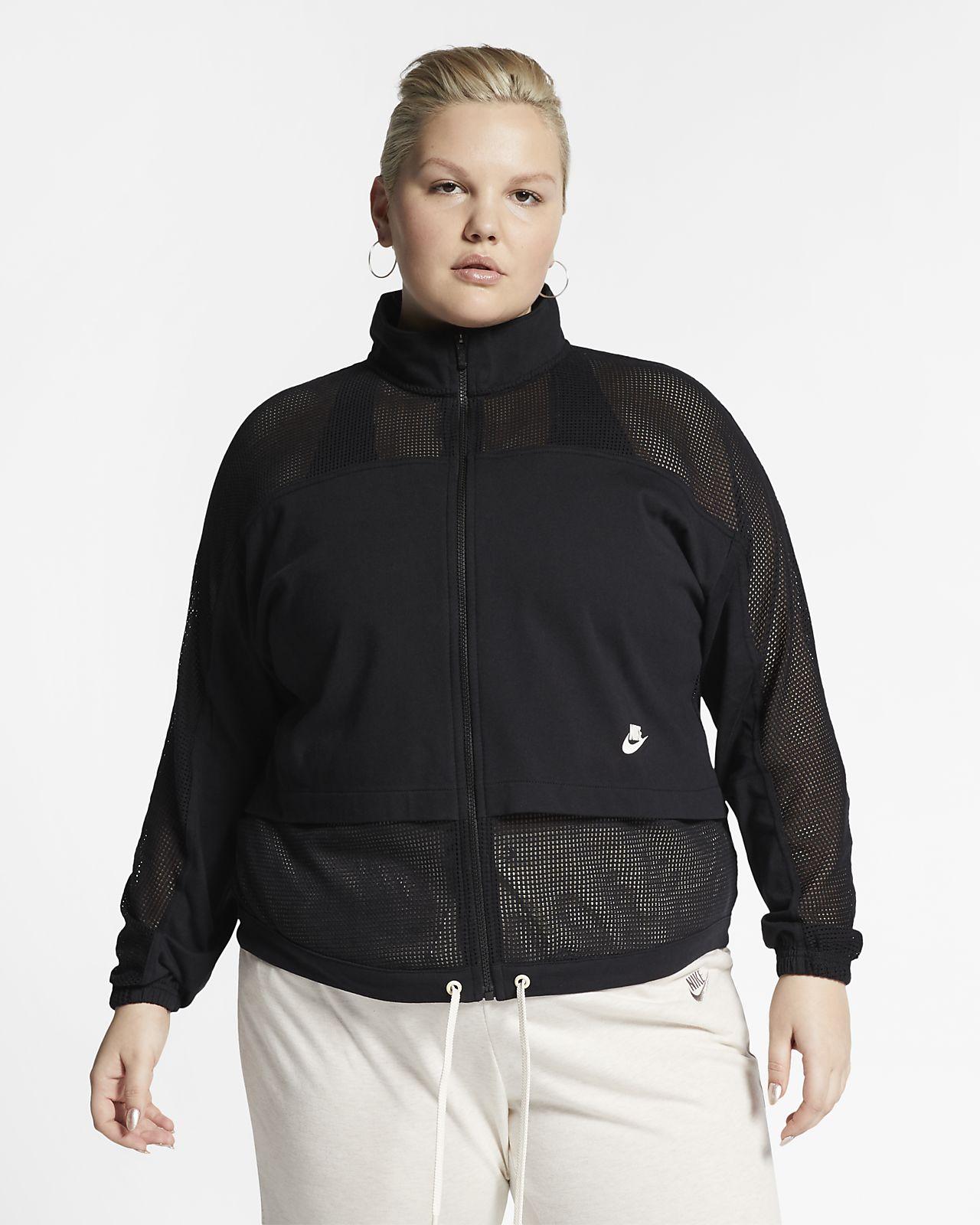 Nike Sportswear Mesh-Jacke für Damen (große Größe)