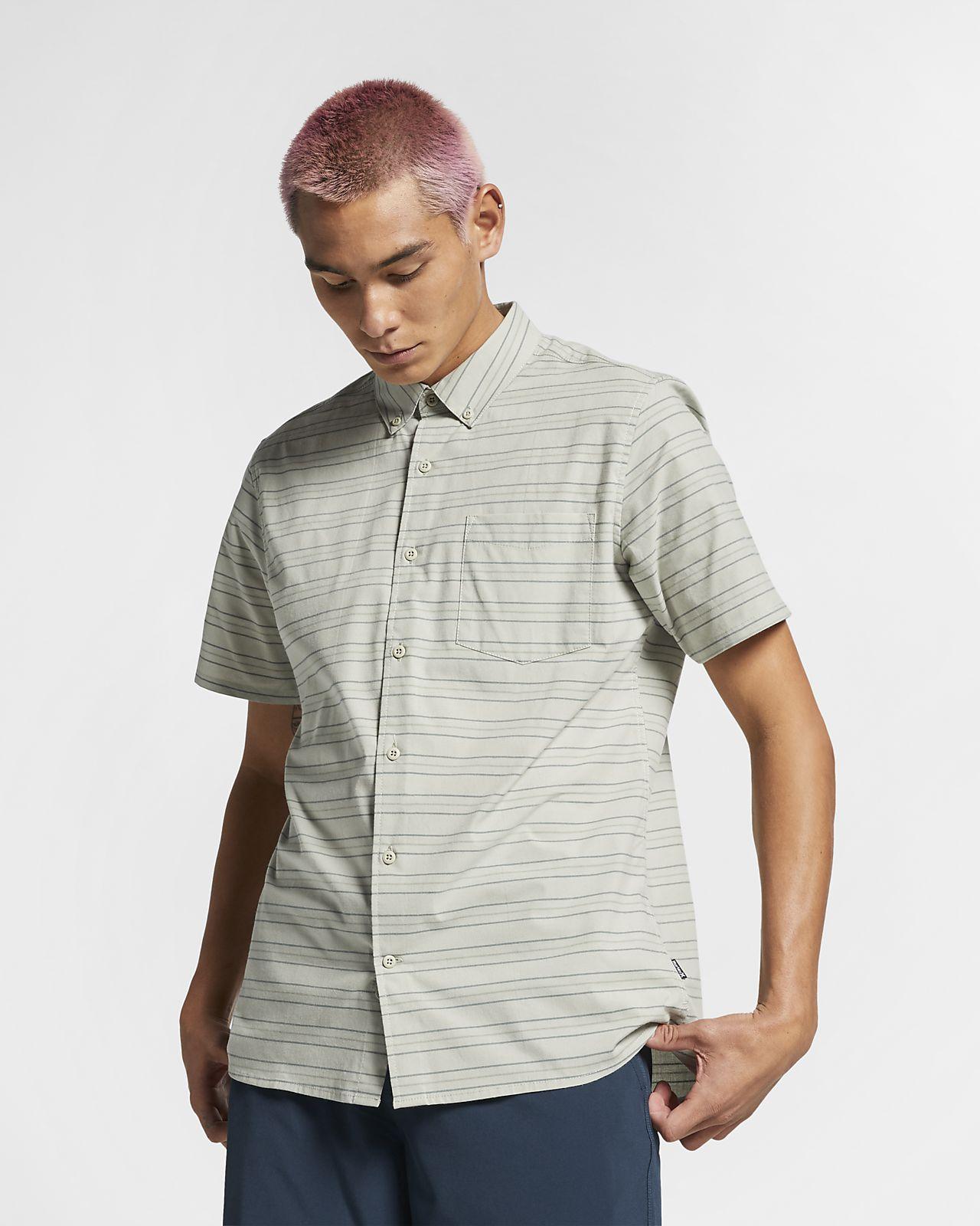 Kortärmad tröja Hurley Dri-FIT Staycay för män
