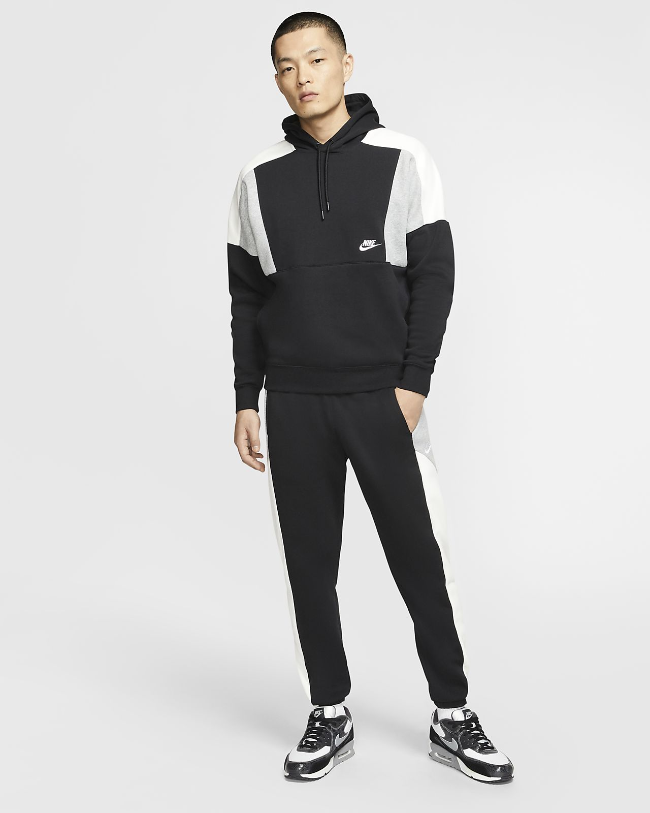 nike jogging air color block femme