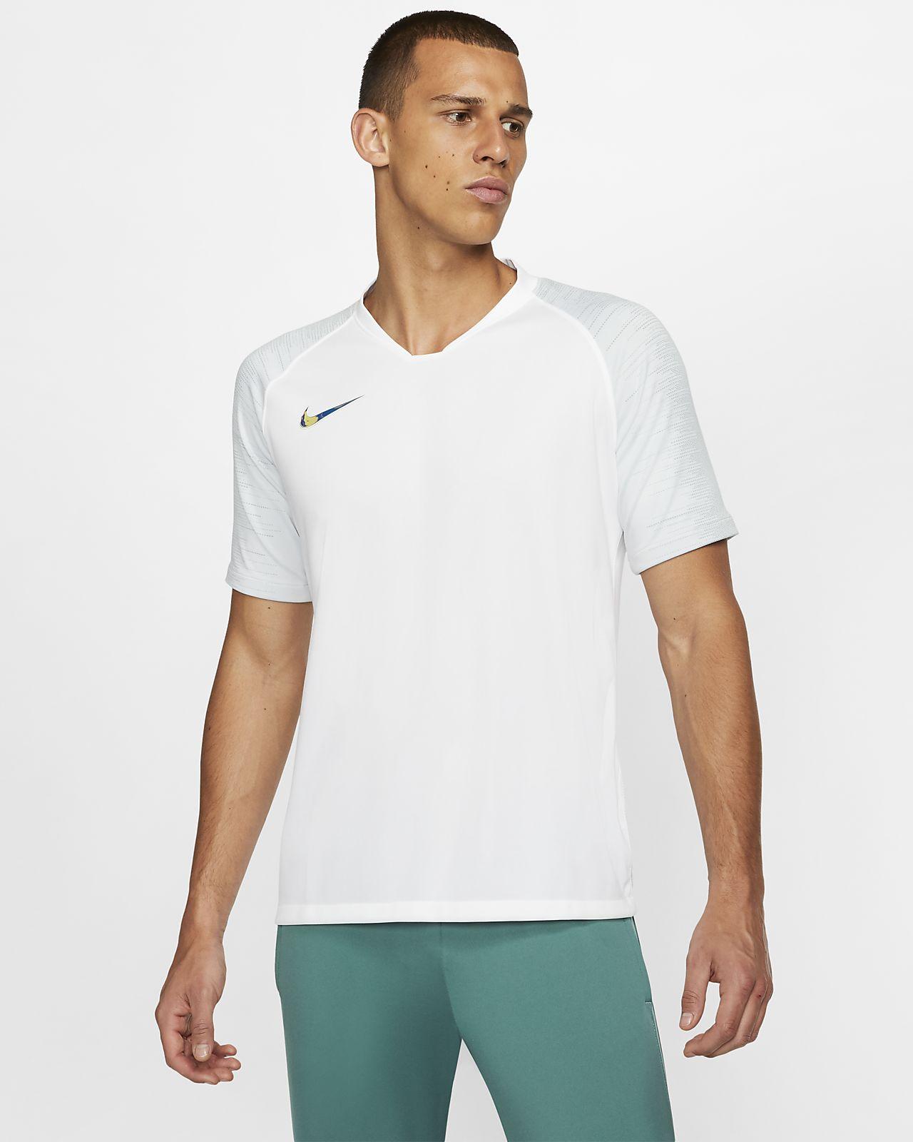 Nike Breathe Strike Kurzarm-Fußballoberteil für Herren