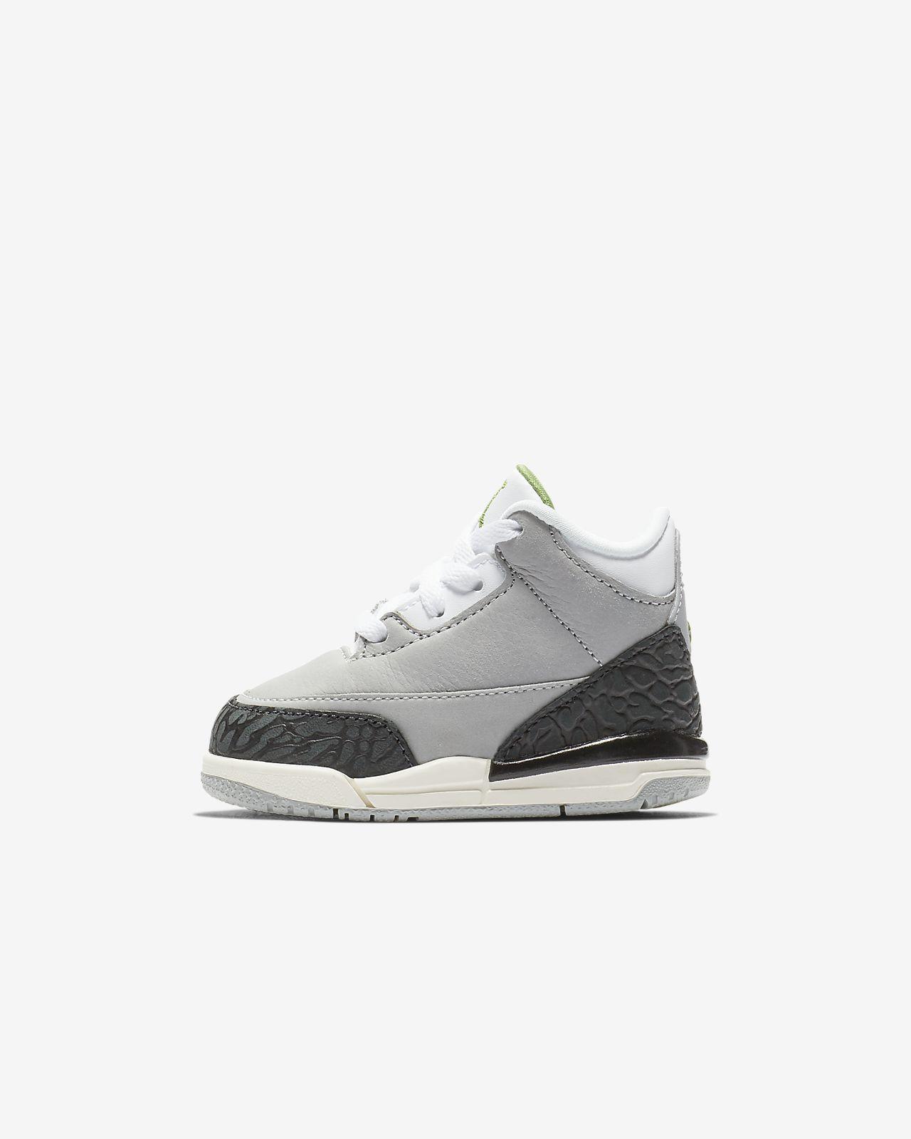 Air Jordan Retro 3 嬰幼兒鞋款