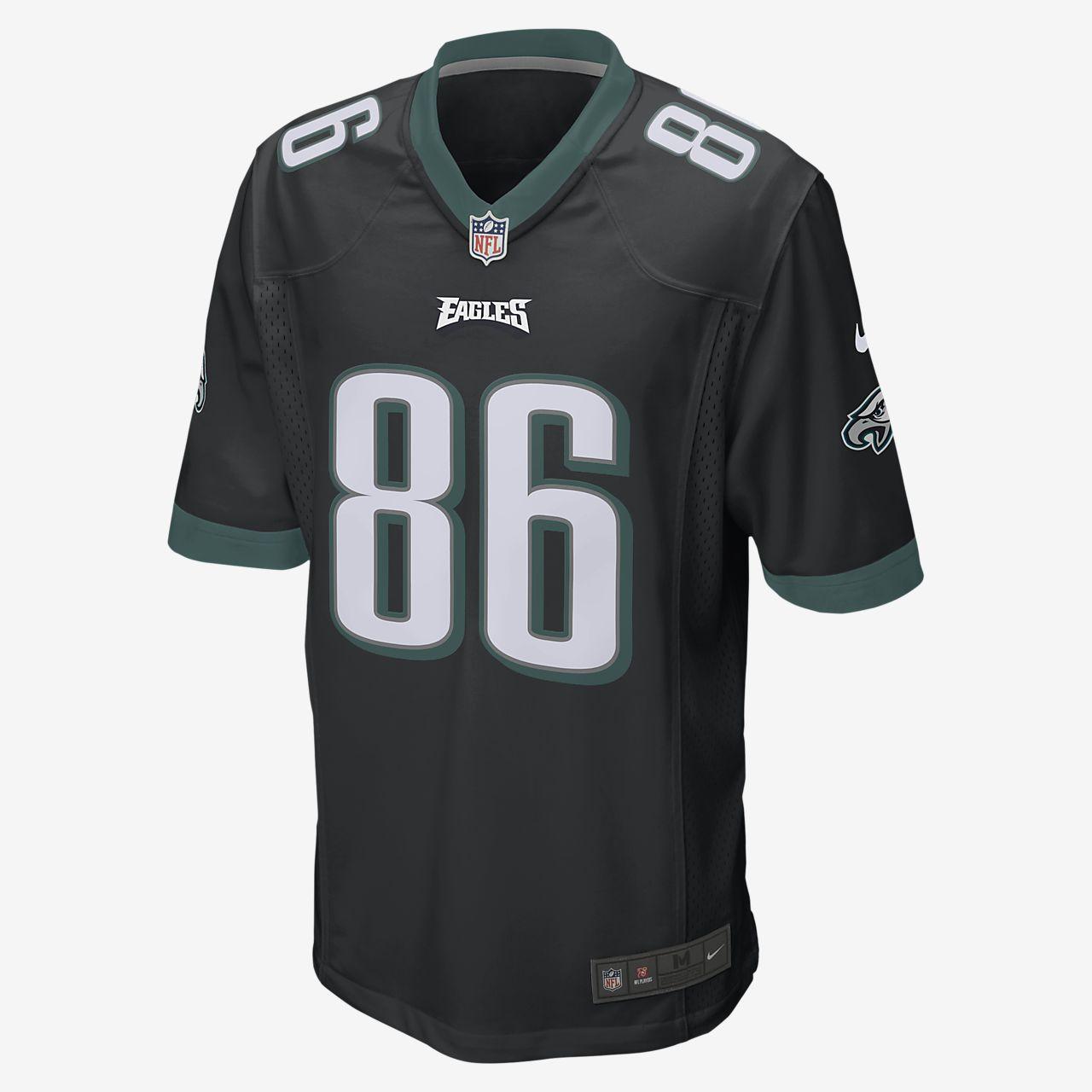 0118a74ea NFL Philadelphia Eagles Game (Zach Ertz) Men s Football Jersey. Nike.com