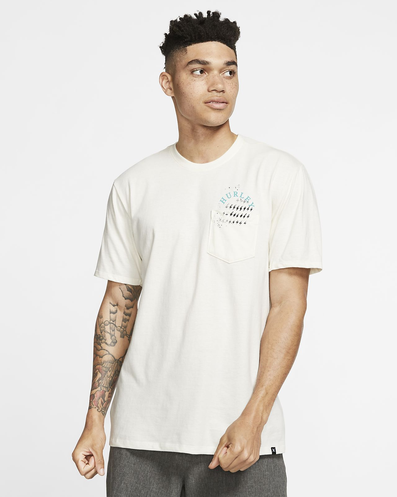 T-shirt Hurley Premium Lords Of Froth Pocket - Uomo