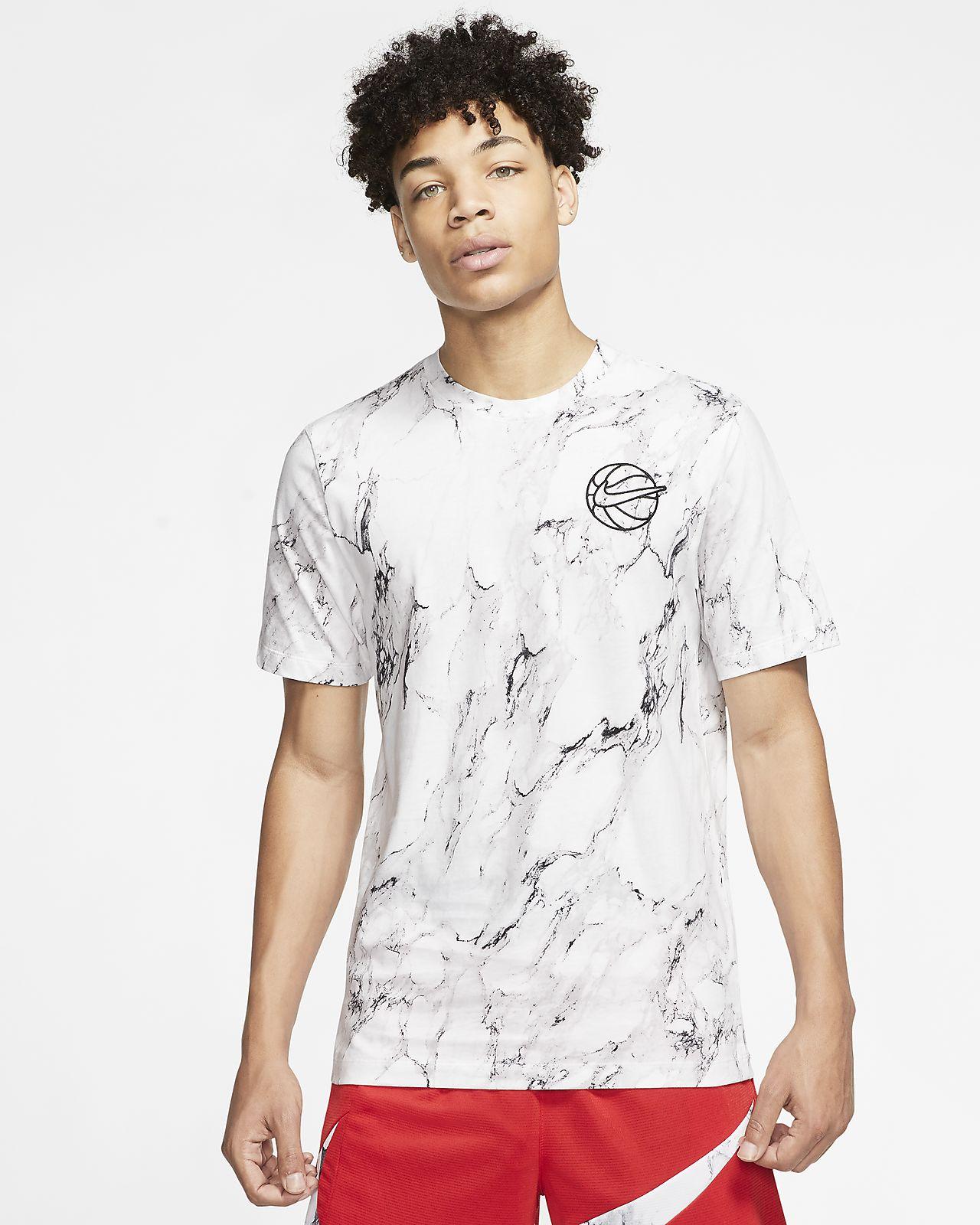 Nike HBR-basketball-T-shirt med print til mænd