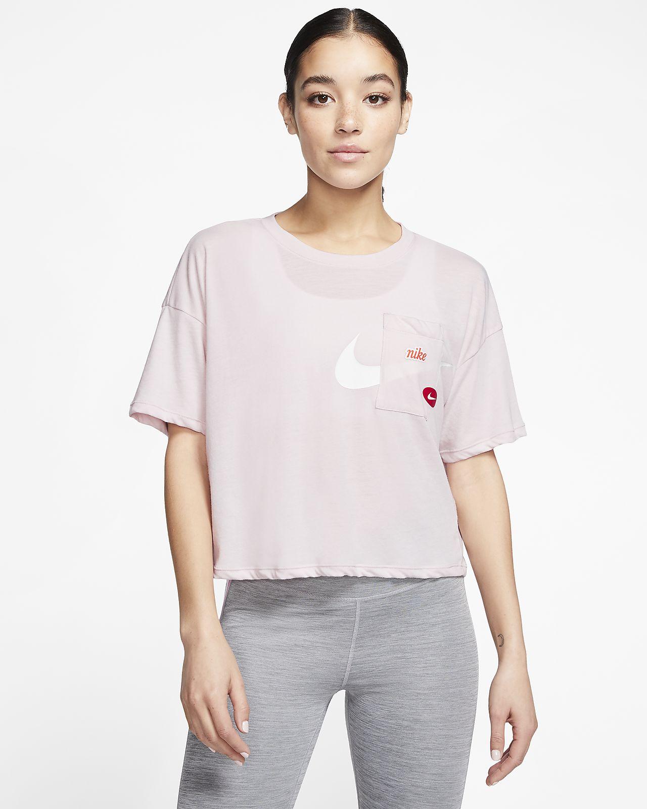 Haut de training à manches courtes Nike Icon Clash pour Femme