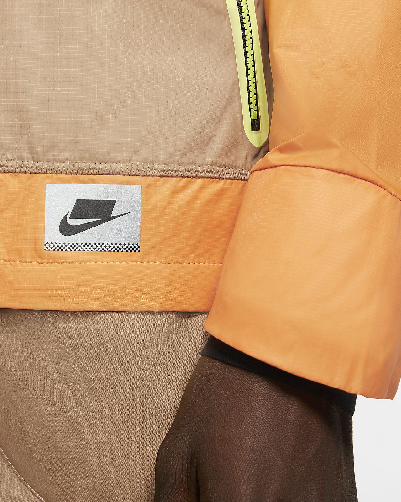 Męska kurtka do biegania z grafikami odbijającymi światło Nike Shield