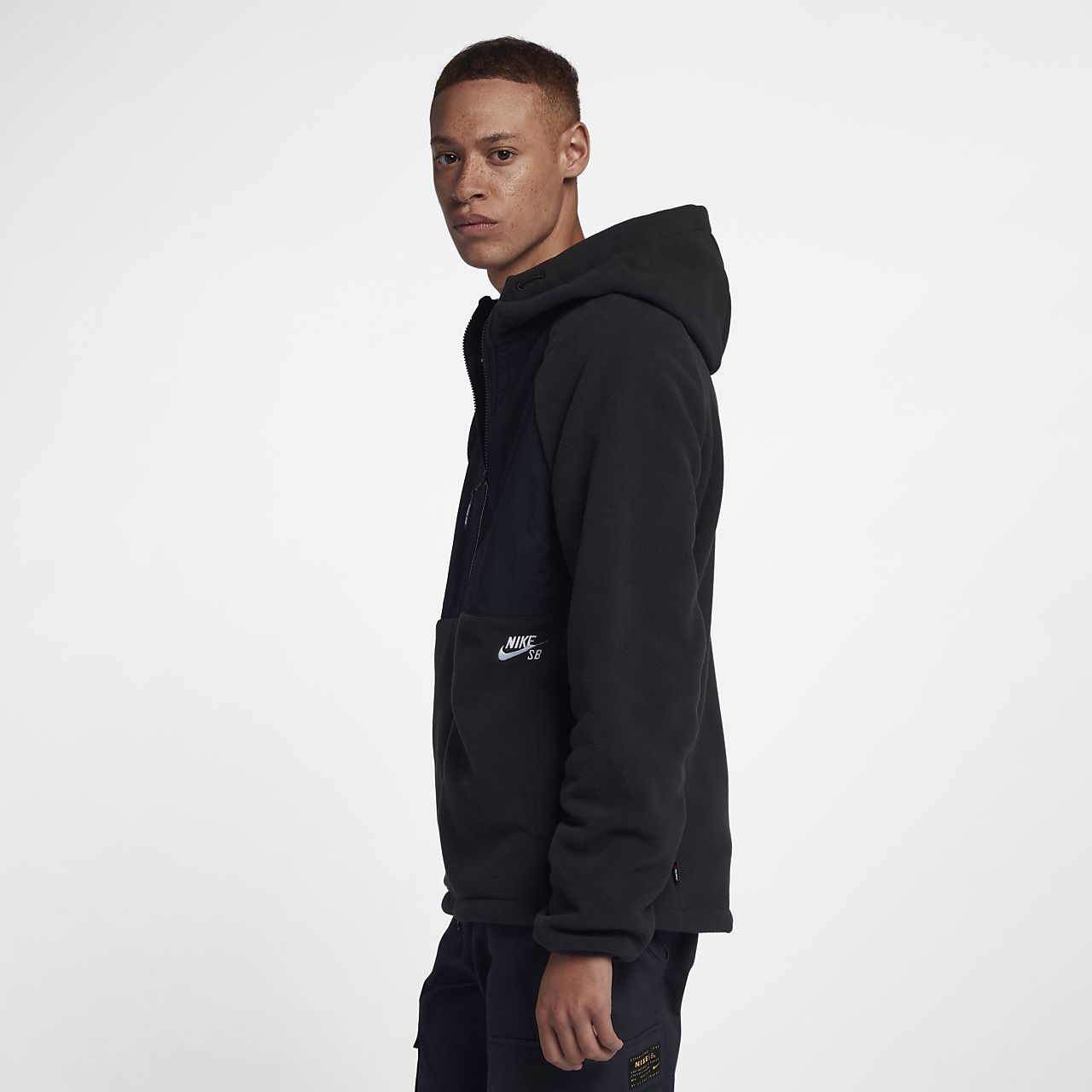 603500c3b4b53 Nike SB Winterized Men s Full-Zip Skate Hoodie. Nike.com SA