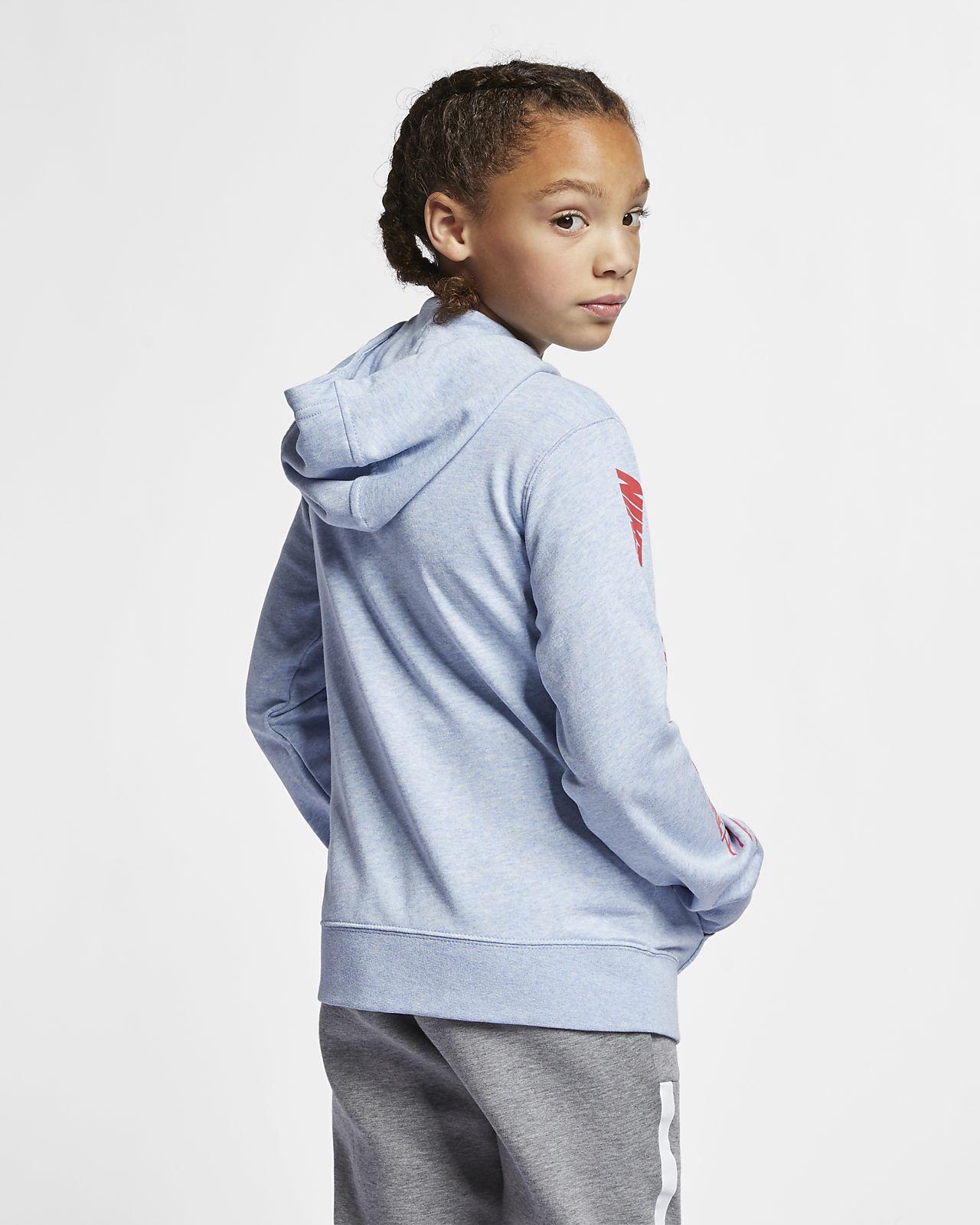 Nike Air Big Kids' (Girls') Full Zip Hoodie