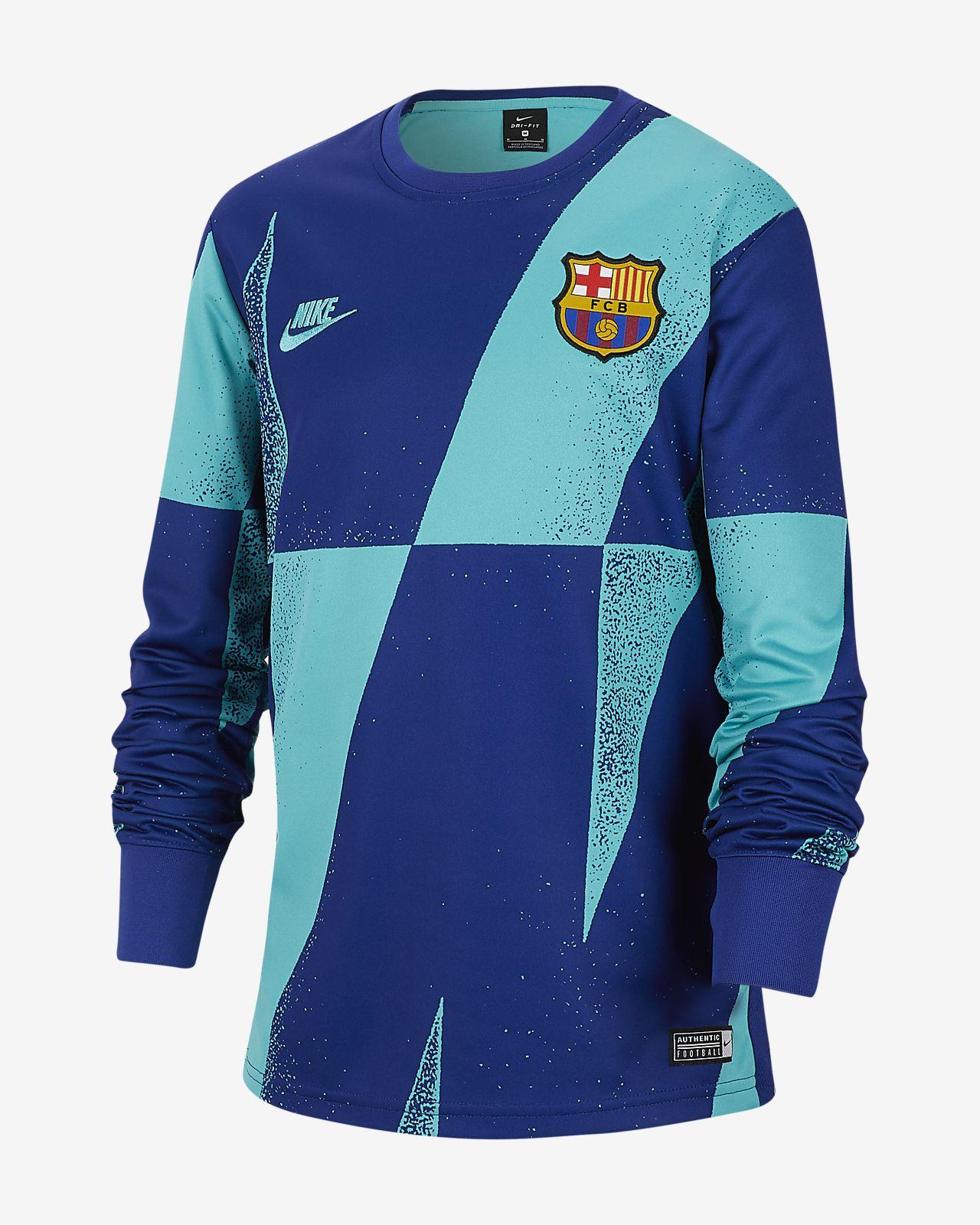 FC Barcelona Older Kids' Football Top