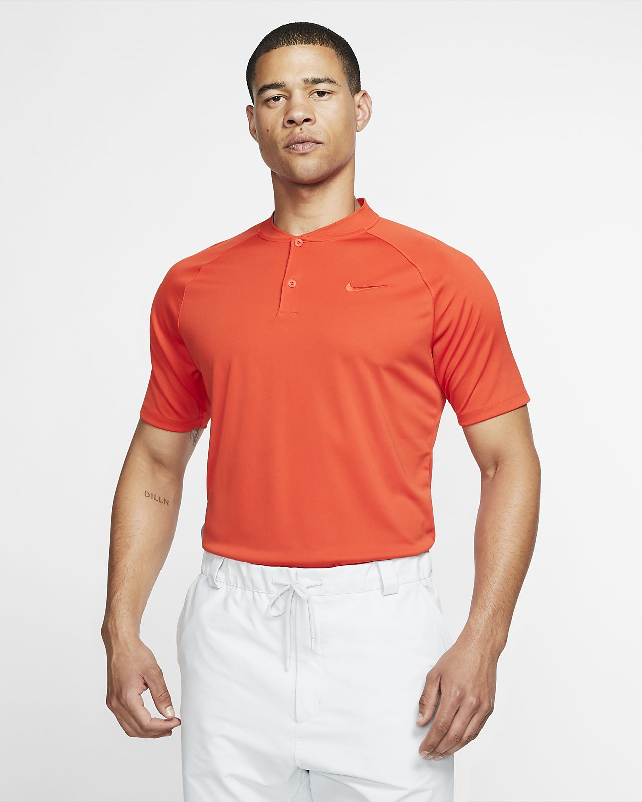 bd303a0a5 Nike Dri-FIT Momentum Men's Standard Fit Golf Polo. Nike.com