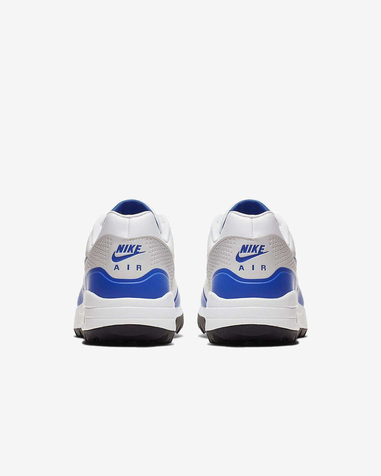 buty męskie nike air max jasno niebieskie z białym