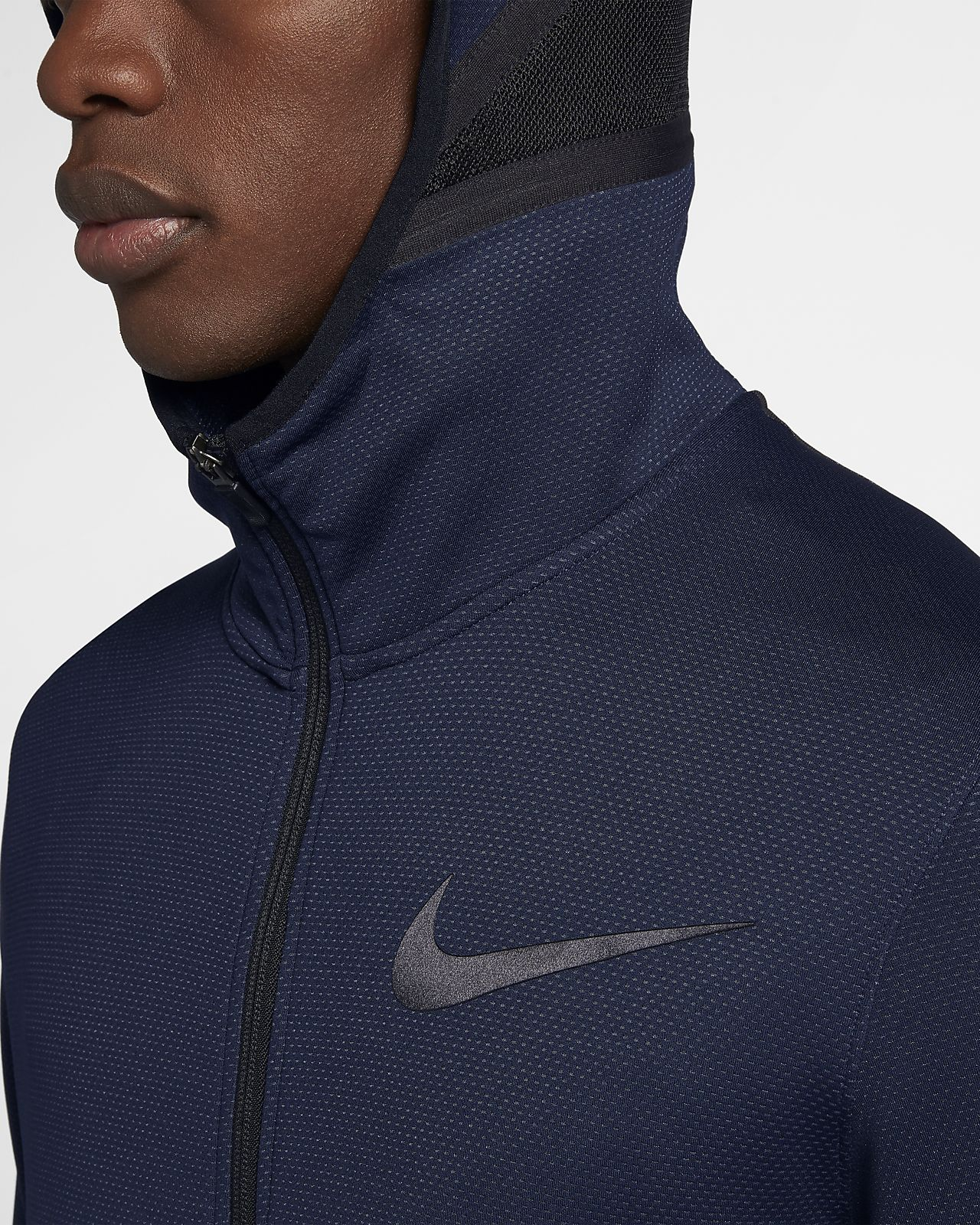wholesale dealer e2f8a 0a329 ... Nike Therma Flex Showtime Men s Full-Zip Basketball Hoodie