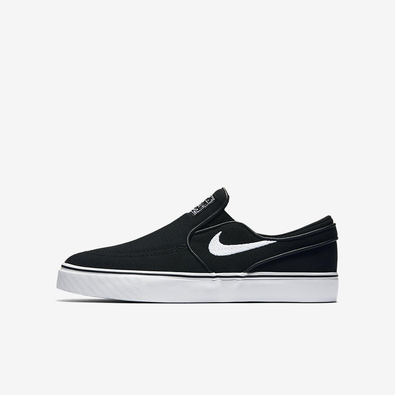 Nike SB Stefan Janoski Canvas Slip-on Older Kids' Skateboarding Shoe