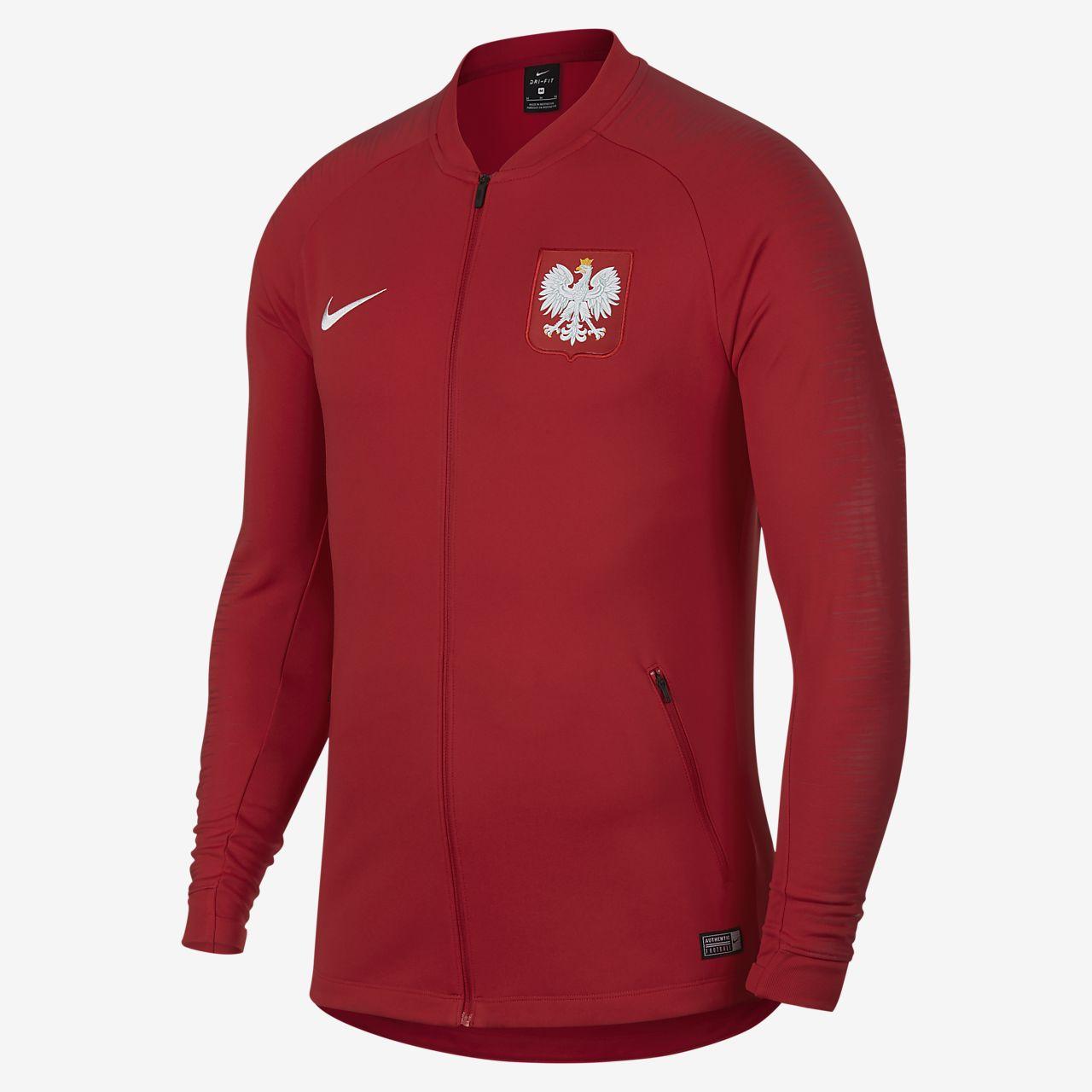 Polen Anthem Herren-Fußballjacke