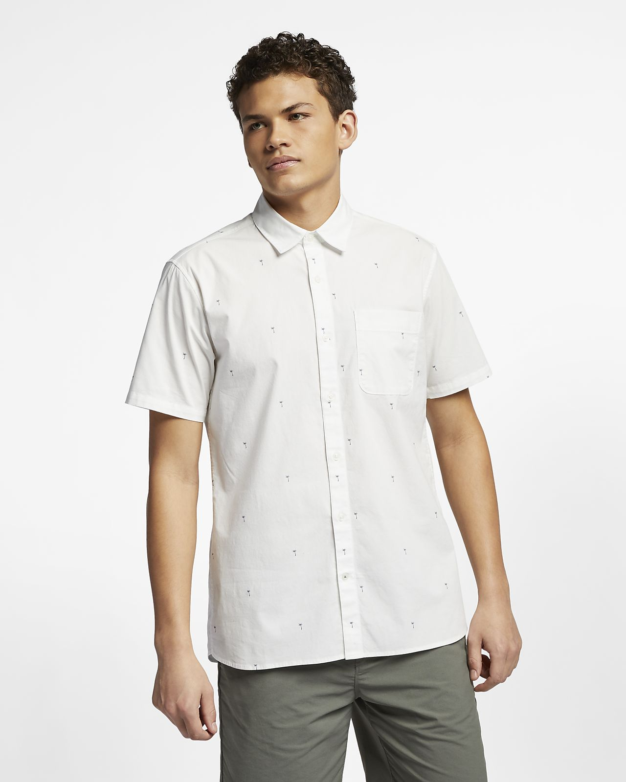 Hurley Palms Men's Short-Sleeve Shirt