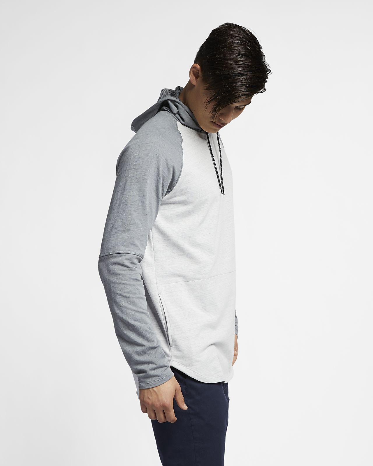 ef963290b2a Ανδρική μακρυμάνικη μπλούζα με κουκούλα Hurley Dri-FIT Grant. Nike ...