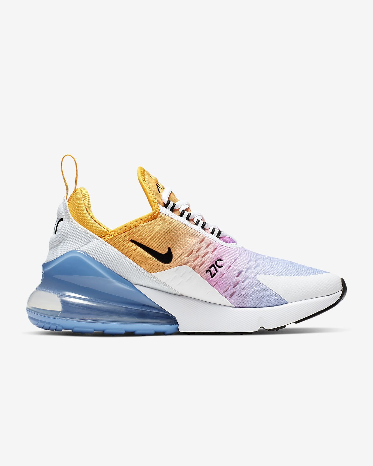2018 Latest Nike Air Max 270 Real Womens Running Shoes Pink