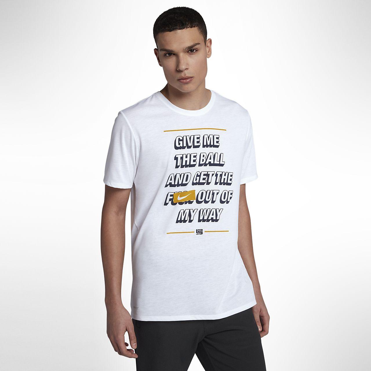 ... Nike Dri-FIT LeBron Men's Basketball T-Shirt