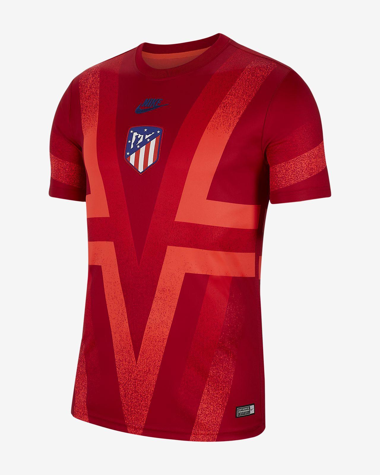 Мужская игровая футболка с коротким рукавом Atletico de Madrid