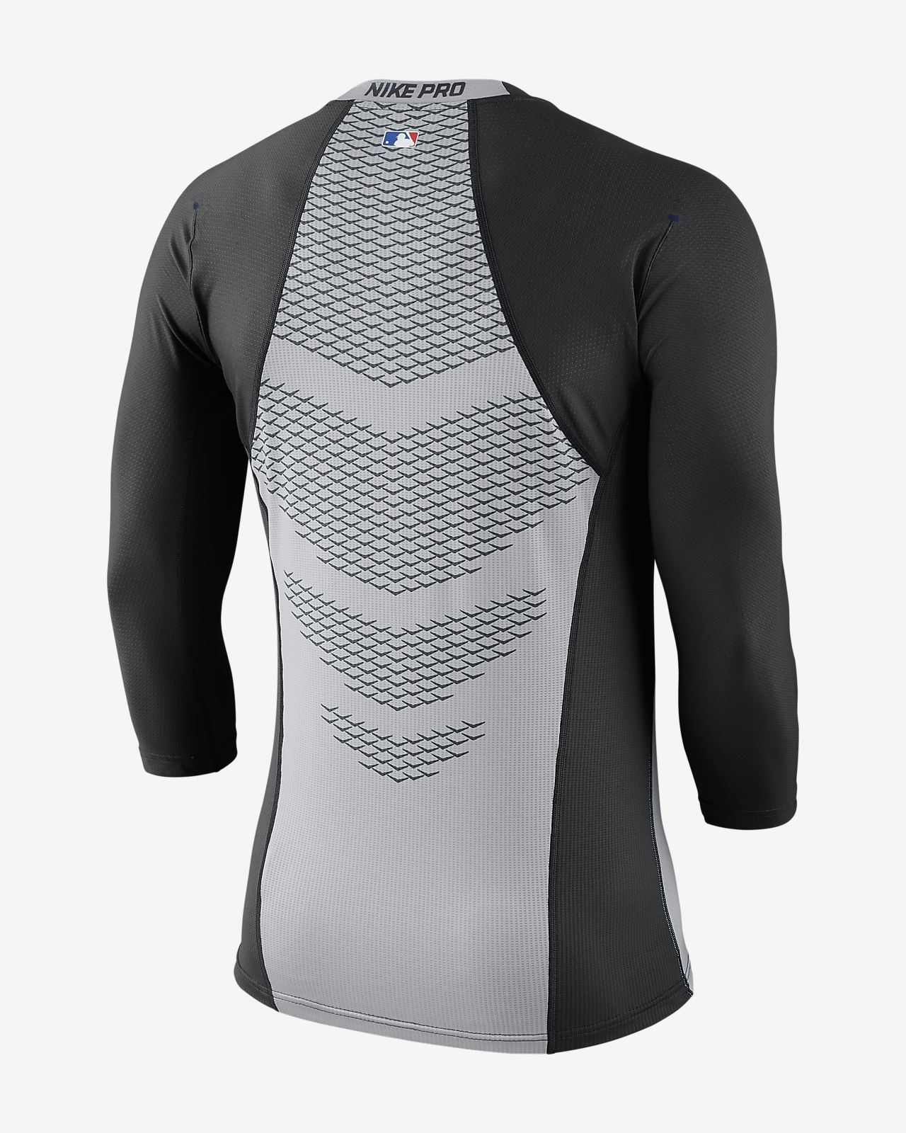 Nike Pro HyperCool (MLB Giants) Men's 3/4 Sleeve Top