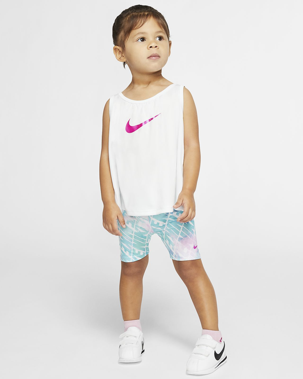 Nike Dri-FIT Baby (12-24M) Top and Shorts Set
