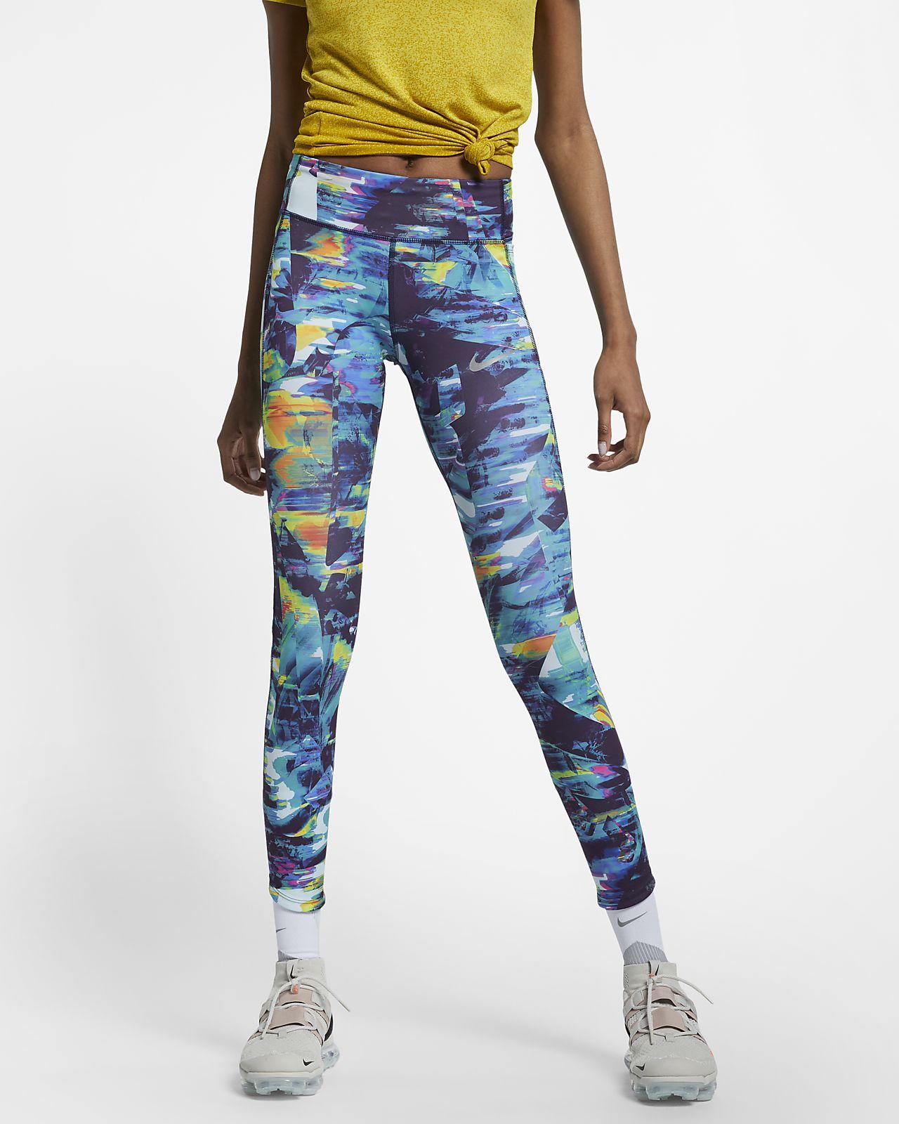 Nike Epic Lux mønstret løpetights for dame