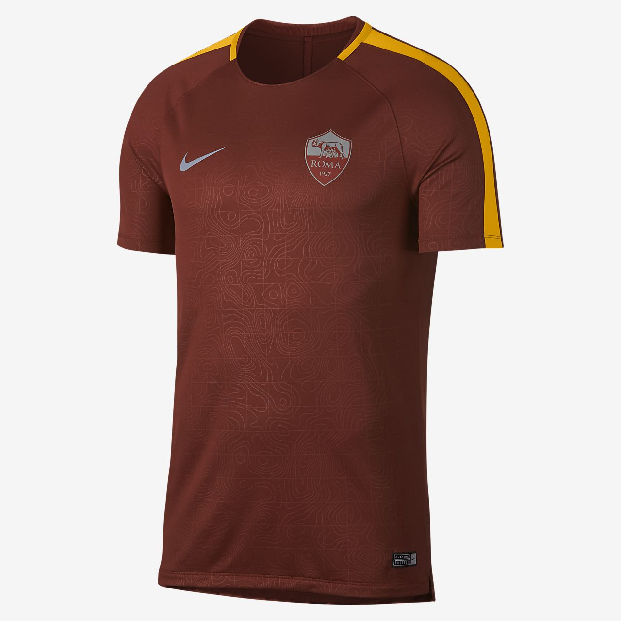 AS Roma Dri-FIT Squad Men's Short-Sleeve Football Top
