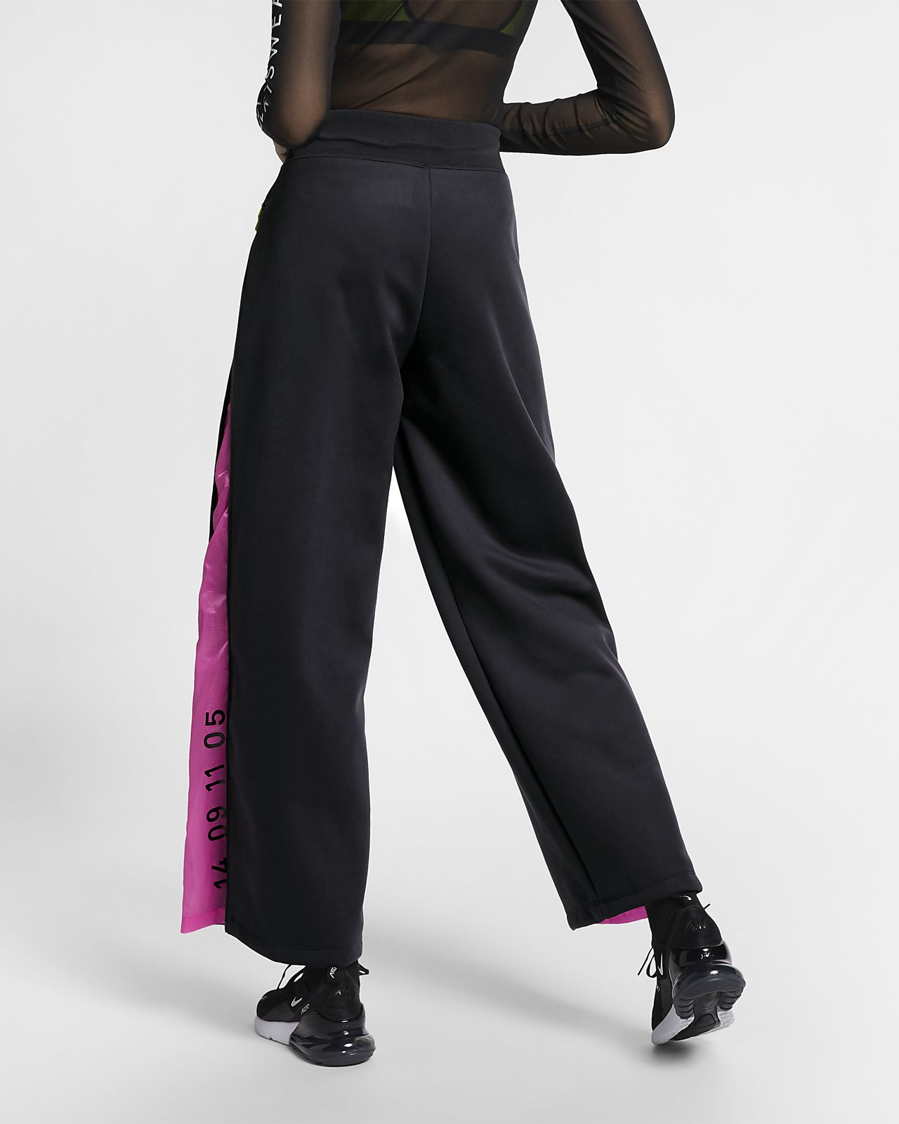 Nike Pantaloni Donna Sportwear Tech Fleece Nero Consegna