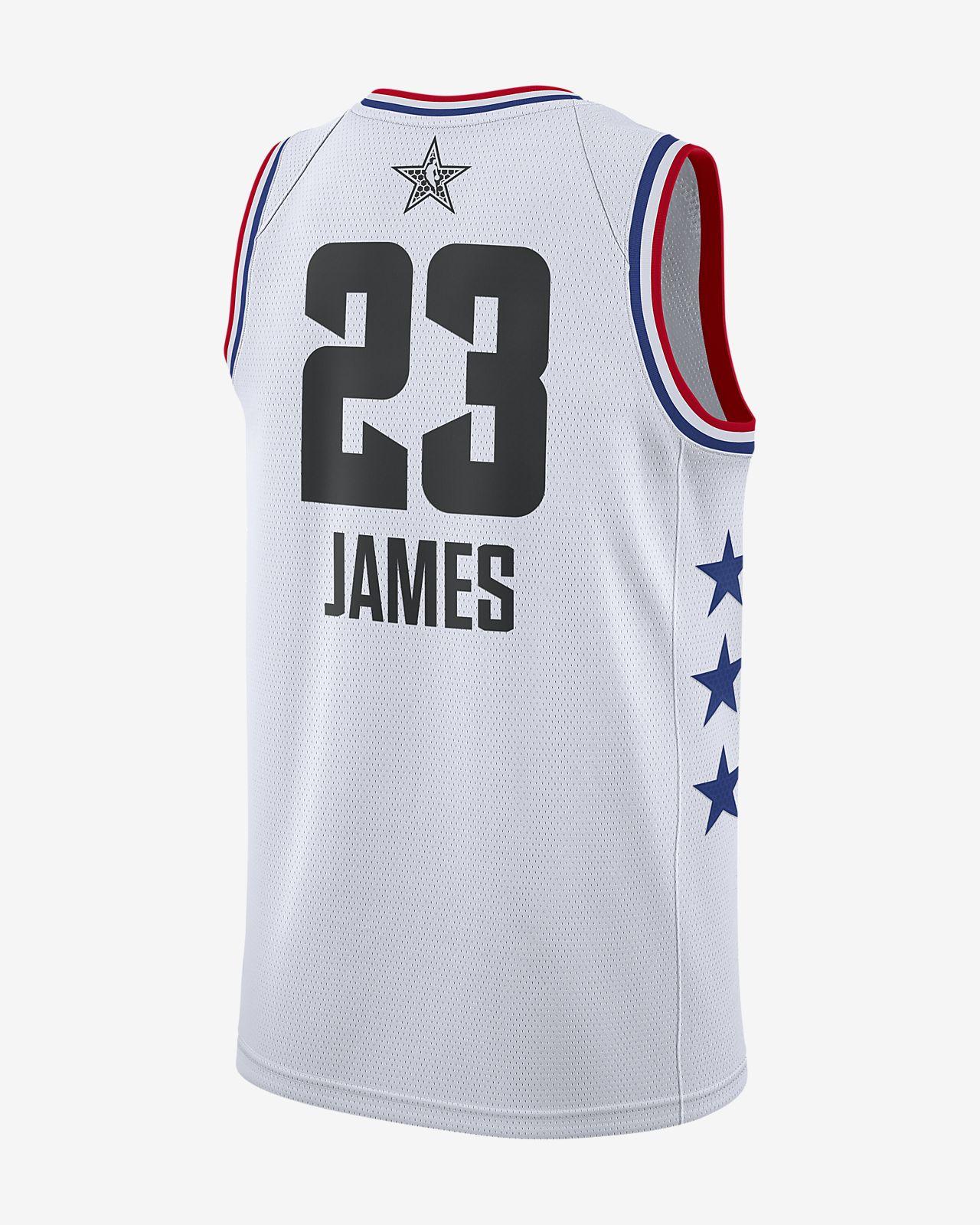 14a3dac0918 ... LeBron James All-Star Edition Swingman Men s Jordan NBA Connected Jersey