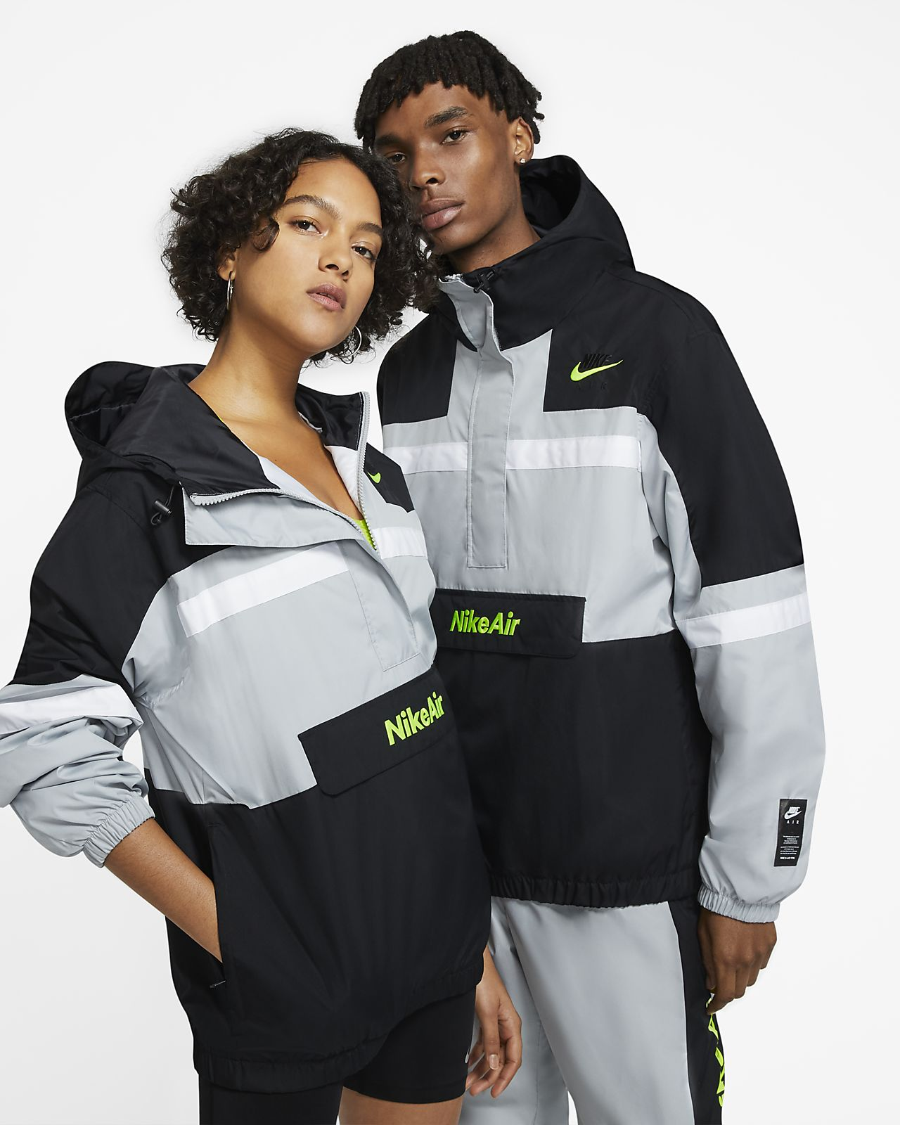 Jacka Nike Air i vävt material