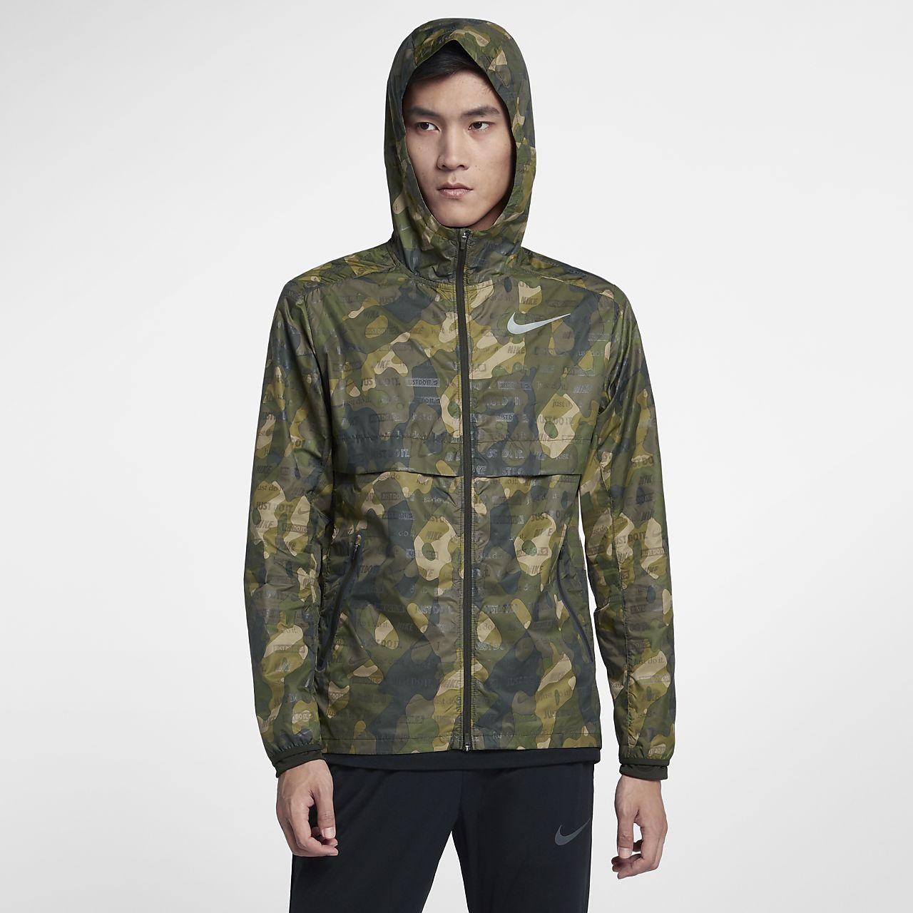 Мужская беговая куртка Nike Shield Ghost Flash