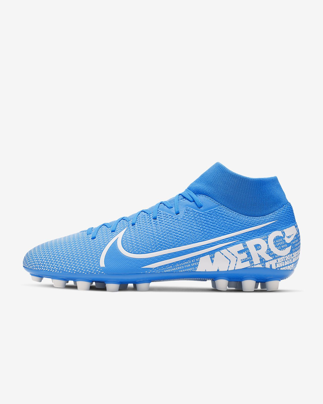 Chaussure de football à crampons pour terrain synthétique Nike Mercurial Superfly 7 Academy AG
