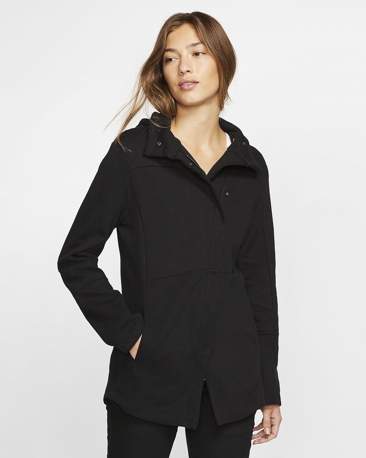 Prenda superior de tejido Fleece con cierre completo para mujer Hurley Winchester