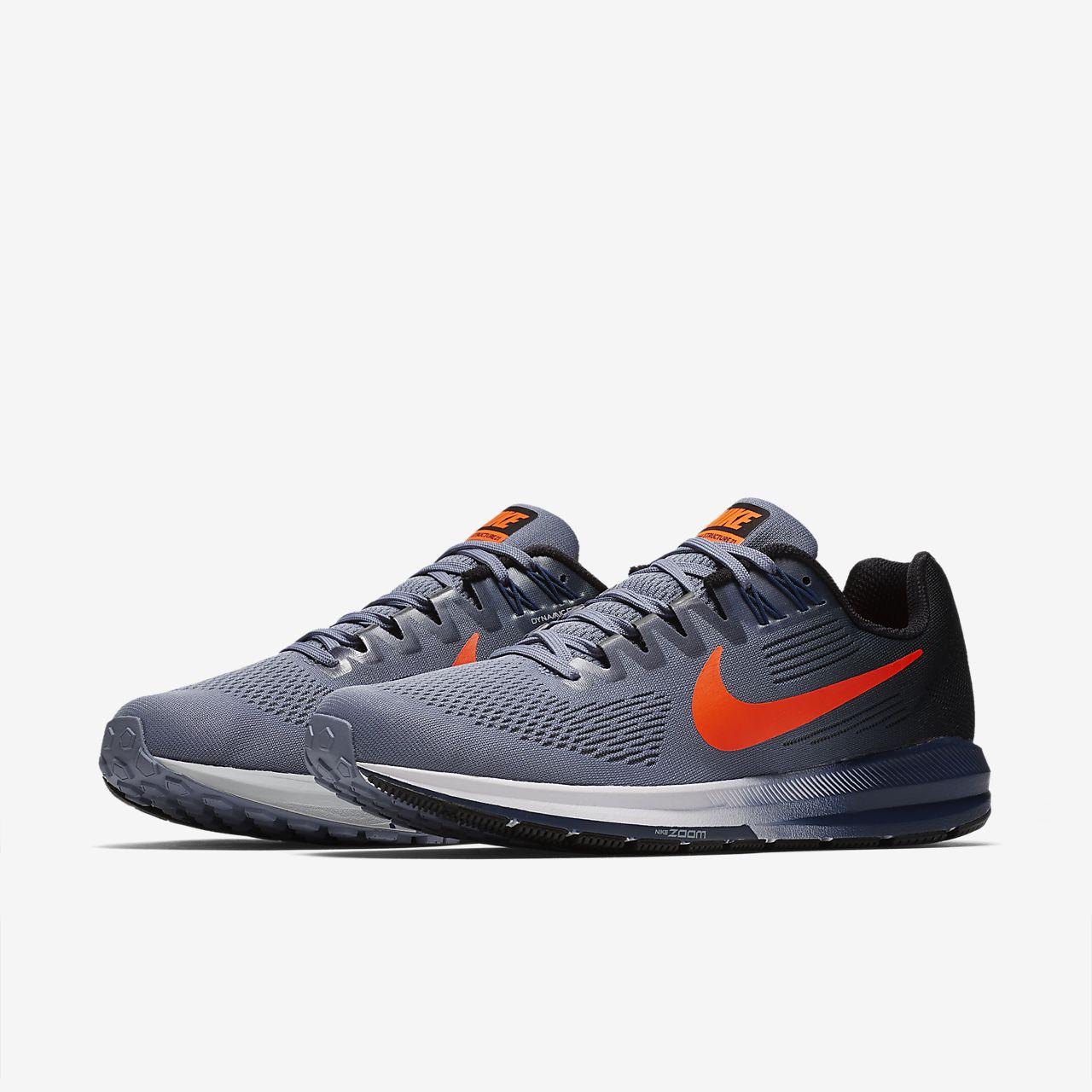 Nike PerformanceAIR ZOOM STRUCTURE 21 - Stabilty running shoes - blue/white/gym blue uvPJJuyZ