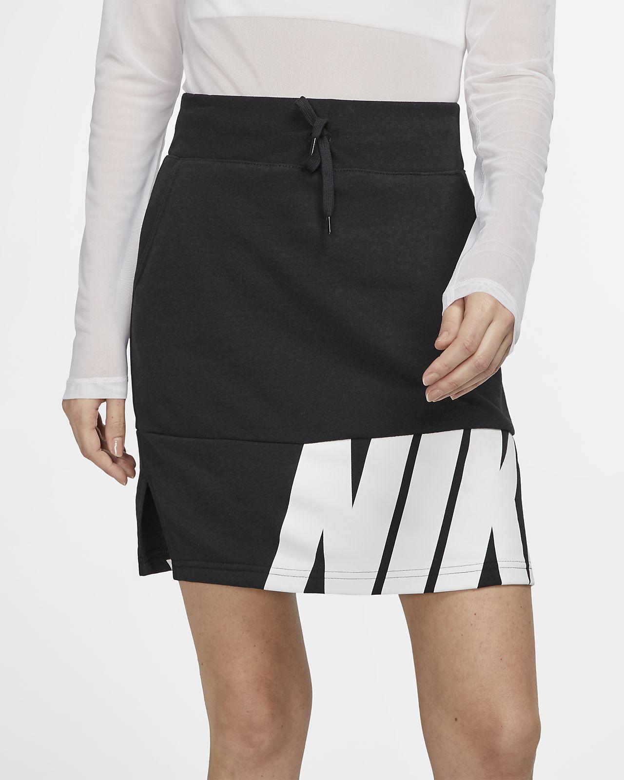 Falda de tejido Fleece para niña talla grande Nike Sportswear