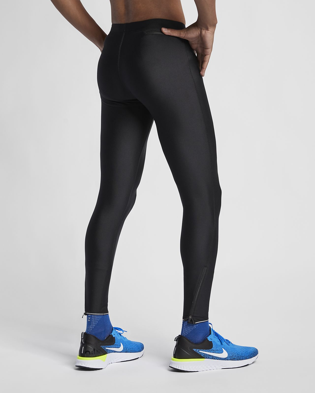 leggings uomo running nike