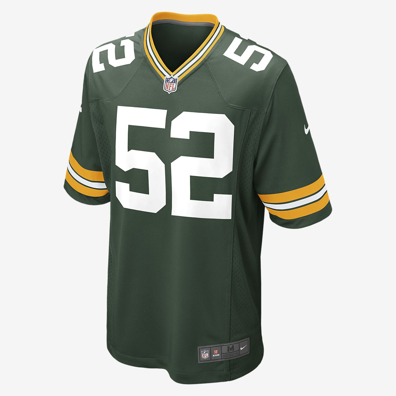 size 40 920c3 76bc6 NFL Green Bay Packers (Clay Matthews) Men's Football Home Game Jersey